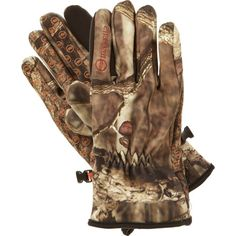 Manzella White Tail ST Bow Hunting Gloves, Brown