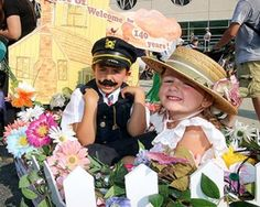 Children make their debut for the 105th annual Wildwoods Baby Parade Wednesday, July 30 in decorated wagons and strollers. The parade started in front of the Wildwoods Convention Center and finished at 16th Street in North Wildwood. Photos by Jen Marra.