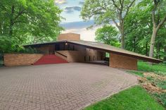 An Original Frank Lloyd Wright House Is For Sale In Minnesota