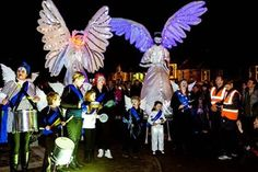 NWSI - Stilt Walkers & Carnival Puppets | Newcastle| North East| UK