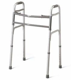 Deluxe Bariatric Walker by Medline. $82.02. Deluxe Bariatric WalkerQuantity: 1 EA = (1 EA/EA,1 CS/EA)Recommended Billing Code (HCPCS): E0148 Deluxe Bariatric Walker: Featuring easy-to-use push-button mechanisms that may be operated by the fingers, palm or side of hand, each side of this lightweight walker operates independently. Enjoy easy movement through narrow spaces and greater stability when standing up, while the front cross braces located near the top of the walker a...
