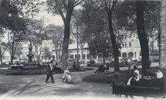 Carré Viger, Montréal, Qc, vers 1907