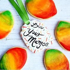 "Check out these mango cookies @tinykitchentreats made using our ""Lemon Cookie Cutter""!"