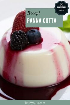 Dutch Recipes, Couscous, Food Inspiration, Panna Cotta, Sweet Tooth, Special Occasion, Deserts, Food And Drink, Pudding