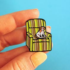 MARTY'S UGLY CHAIR ENAMEL PIN In stock & ready to ship. These little guys have been created from my original drawing of Marty Crane's...