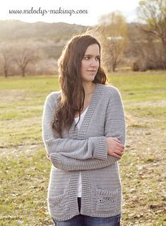 Wisteria Cardigan Crochet Version Pattern By Melody Rogers All