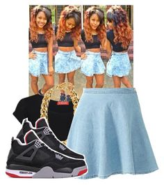 """""""Outfit Inspired By"""" by ravion-denay ❤ liked on Polyvore"""