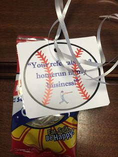Celebrating the World Series??? Bring these fun gifts along :) #realestate…
