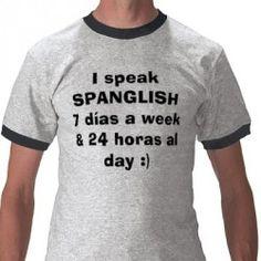 Spanglish haha @Philippa Scroggie