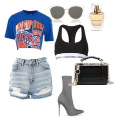 """""""Summer"""" by gaby1501 on Polyvore featuring Calvin Klein, Topshop and Christian Dior"""