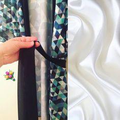 Silky kimono robes! :)