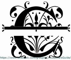 The Non-Crafty Crafter: CRICUT: Using Inkscape to create a split letter monogram - #tutorial covers downloading too #stepbystep; go back for what to do when you get it to #DesignSpace