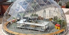 A dome full of opportunity A geodesic dome glasshouse has given a Nottinghamshire academy an unusual and flexible learning environment