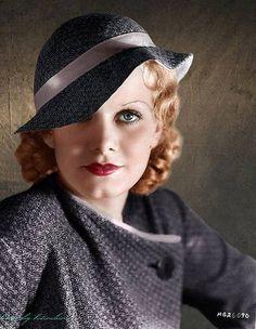 Jean Harlow hat color