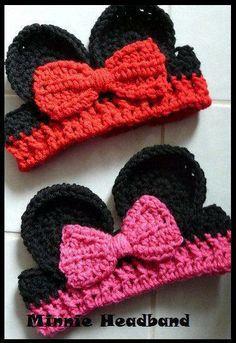 Crochet Minnie Ears
