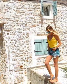 "Matea Gecevic on Instagram: ""Here we CRO! ❤️🇭🇷💙 #croatia #murter . . . #travelawesome #travellingthroughtheworld #travelgirls #girlslovetravel #gltlove #girlsthatwander…"" Girls Love Travel, Croatia, Mini Skirts, Girly, Sea, Instagram, Fashion, Women's, Moda"