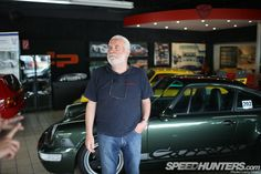 """""""Kremer made the weapons system under the fibreglass, but those iconic bodies came from the pen of this man, DP Motorsport founder Ekkehard Zimmerman."""""""