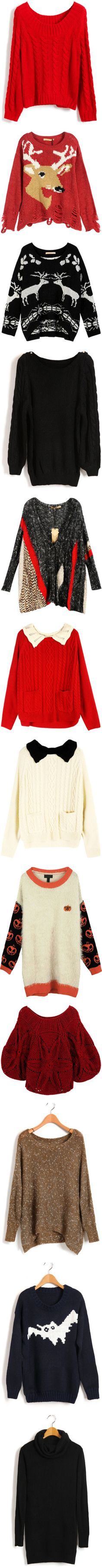 """""""Cozy Sweater Party"""" by chicnova ❤ liked on Polyvore"""