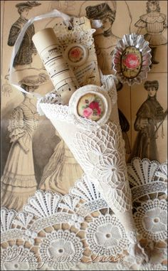Beautiful vintage cone Imagine a Christmas tree dripping with beautiful cones.