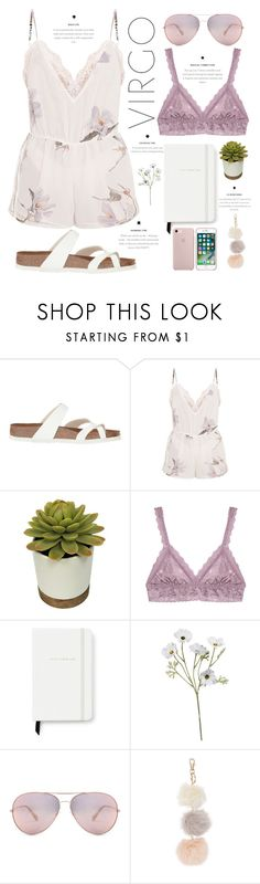 """""""VIRGO"""" by bashful-beauty ❤ liked on Polyvore featuring Hanky Panky and Kate Spade"""