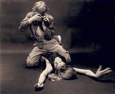 David Hemmings and Verushka - Blow Up, 1966
