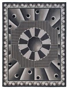 Tapis Celeste, Nicolas Aubagnac (Galerie Chevalier)