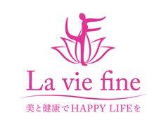La vie fine様 ロゴ COLORS(カラーズ) 山口県岩国市 広告、グラフィックデザイン、Webデザイン制作