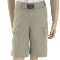 French Toast School Uniforms Belted Cargo Short Boys