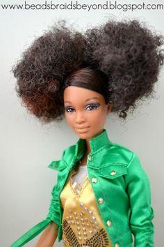 M's favorite barbie afro