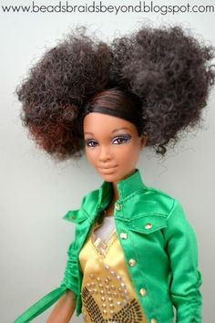 M's favorite barbie afro