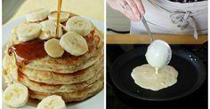 Glutenfreier Bananen-Pancake mit nur 3 Zutaten