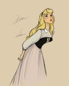 Aurora Disney, Princesa Disney Aurora, Arte Disney, Disney Art, Disney And More, Disney Love, Disney And Dreamworks, Disney Pixar, Disney Princess Art