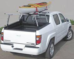Currently: Ridge Rack 1 is a kayak rack and is a Honda truck rack