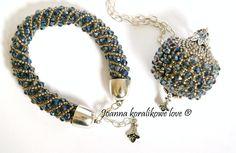 Pendant Bracelet Capricho beaded beads
