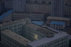 The only light in Pyongyang