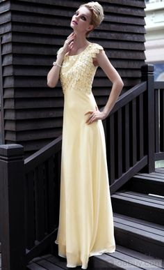 US$178.69 Gorgeous A-Line Square Floor-Length Beadings EveningEveningFormalHomecomingHomecoming Dress. #Dresses #Dress #Floor-Length #A-Line