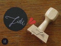 """Stempel: handschriftlich """"Liebe"""" von bastisRIKE"""