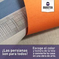 ¡Las persianas son para todos! #monsterblinds #remodela #preciosaccesibles #diseño #tendencias #variedad #decoración #estilo #espacios #persianas  #blinds #design #interiordesign