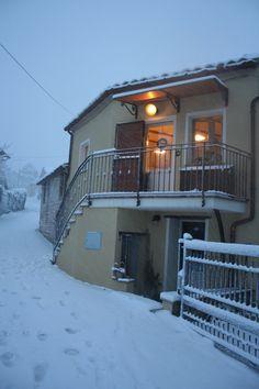 tre anni qui... neve a Villacolle!