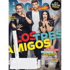People en Espanol | Ricky Martin | Alejandro Sanz | Laura Pausini | October 2015