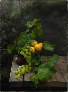 Фотография Фантазия с виноградом. Автор Игорь Седловский.