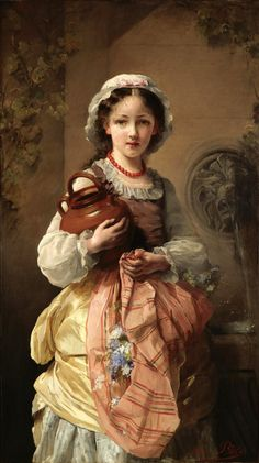 Французская художница Графиня Жанна Боле