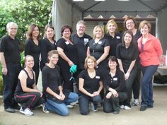 Team Dallas - professional organizers and me before day one of the shoot; Jo episode.  #Hoarders