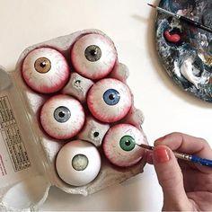 eyes #easter #eggs