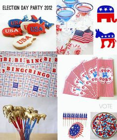 election day party and entertaining ideas