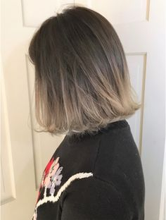 ベレーザ 渋谷(BELEZA) 【Beleza】ba500_バレイヤージュグラデーションカラーハニーボブ Pretty Hair Color, Hair Color For Black Hair, Brown Hair Colors, Love Hair, Balayage Hair Blonde, Brown Blonde Hair, Short Grunge Hair, Asian Short Hair, Hair Dye Colors