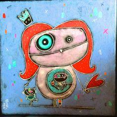Julie Miville Art For Kids, Crafts For Kids, Cool Art, Fun Art, Monsters, Art Projects, Disney Characters, Fictional Characters, Kindergarten