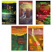 """The Lily Bard """"Shakespeare"""" Series by Charlaine Harris"""