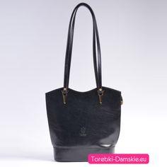 Nowa wersja kolorystyczna ekskluzywnej torebki skórzanej - model w wersji czarnej. http://torebki-damskie.eu/czarne/496-elegancka-czarna-torebka-skorzana-na-dlugich-paskach.html Dwa paski mają długość 80 cm, torba średniej wielkości, elementy metalowe w kolorze złotym. #torebki #moda