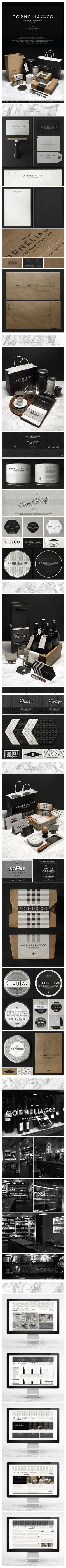 CORNELIA and CO [ Brand identity & Packaging ] by Oriol Gil